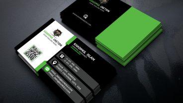 ফটোশপ টিউটোরিয়ালঃ Modern Business Card Design In Photoshop CC 2017 | Photoshop Tutorial