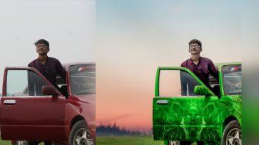 ফটোশপ টিউটোরিয়ালঃ Photoshop Manipulation Tutorial – Car Photo Effects In Photoshop [ভিডিওসহ]