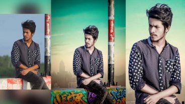 ফটোশপ টিউটোরিয়ালঃ How to change background in photoshop cc by khadimul creation | photoshop editing tutorial  [ভিডিওসহ]