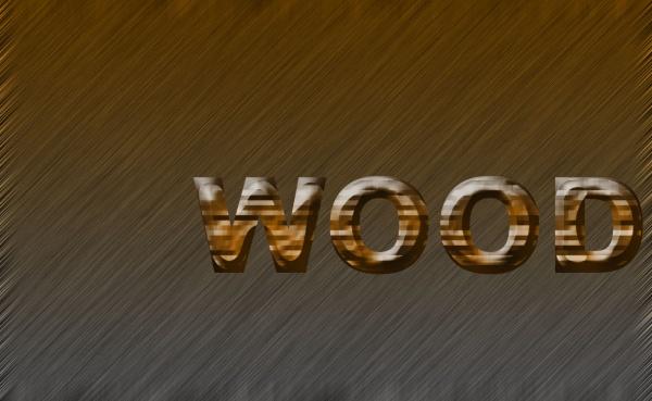 ফটোশপ Effect এর দুনিয়া [পর্ব-০৬] :: Wood Text Effect