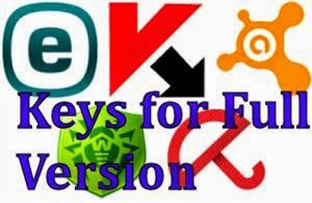 ডাউনলোড করুন ESET NOD32, Kaspersky, Avast, Dr.Web, Avira ২০১৫ সিরিয়াল Key