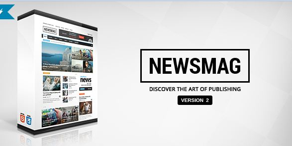 অসাধারন NewsMag wordpress theme free download