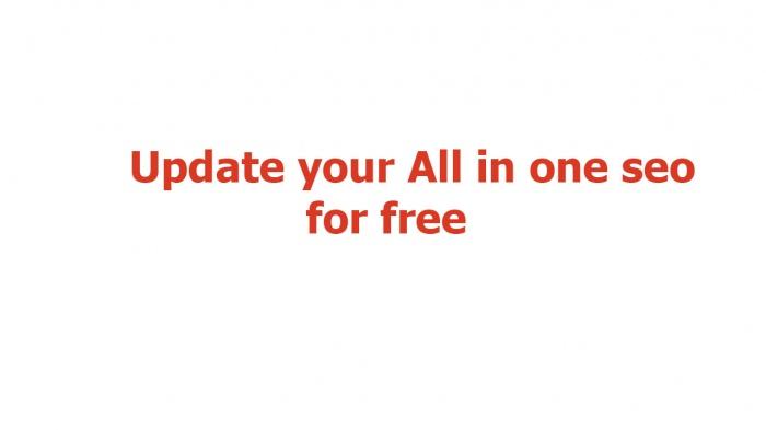 ওয়েবসাইট তৈরী সম্পূর্ন ফ্রিতে [পর্ব-০৯] :: all in one seo আপডেট করুন সম্পুর্ণ ফ্রীতে