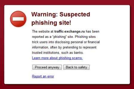 YAHOO Gmail Facebook সতর্কতা (phishing)