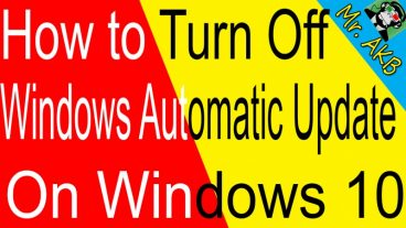 How to Turn Off Windows Automatic Update On Windows 10