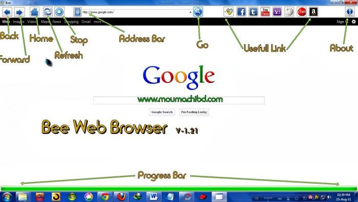 সব চেয়ে ছোট আর সব চেয়ে সহজ একটি Web Browser