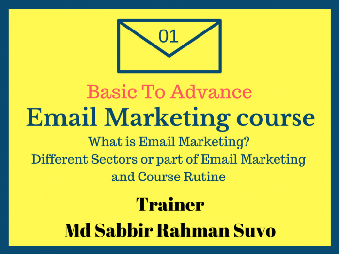 Basic To advance Email Marketing Part 1 (বাংলা)