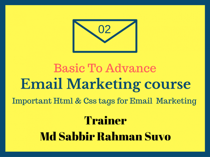 Basic To advance Email Marketing Part 2 (বাংলা)