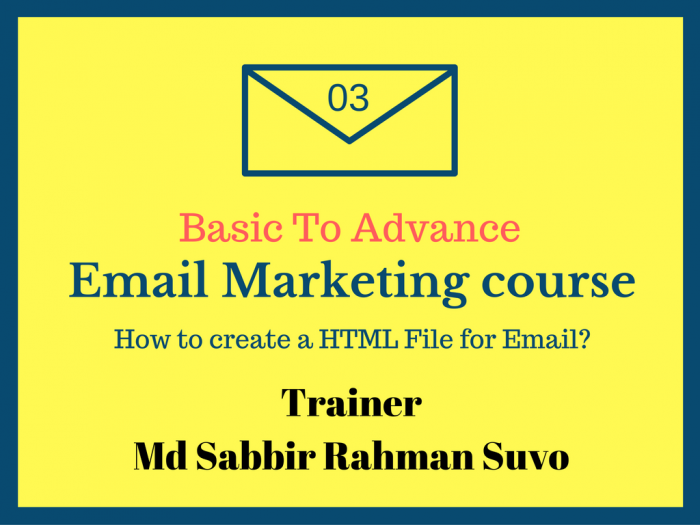 Basic To advance Email Marketing Part 3 (বাংলা)
