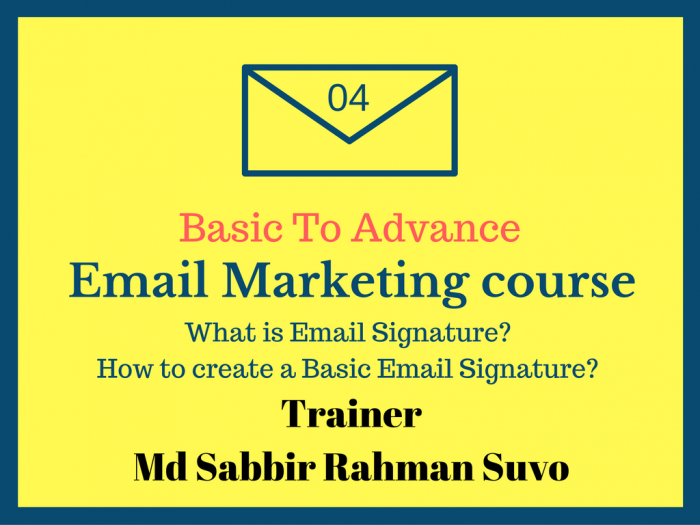 Basic To advance Email Marketing Part 4 (বাংলা)