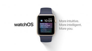 অ্যাপল ওয়াচ নতুন সংস্করণ WatchOS 4