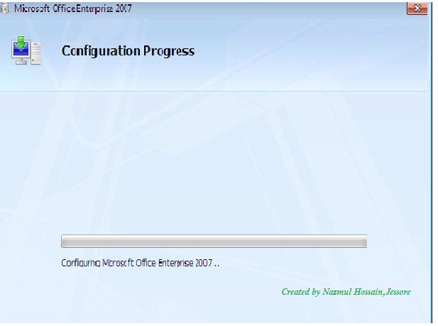 Microsoft Office start করার সময় Configuration Progress সমস্যার সমাধান