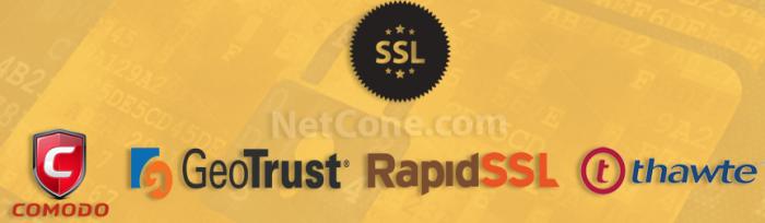 Netcone SSL Certificate brands