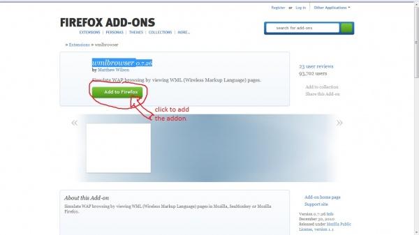 এবার Firefox দিয়ে wap site visit করতে পারবেন!!!! বিশ্বাস না হলে একবার try তো করে দেখুন!!