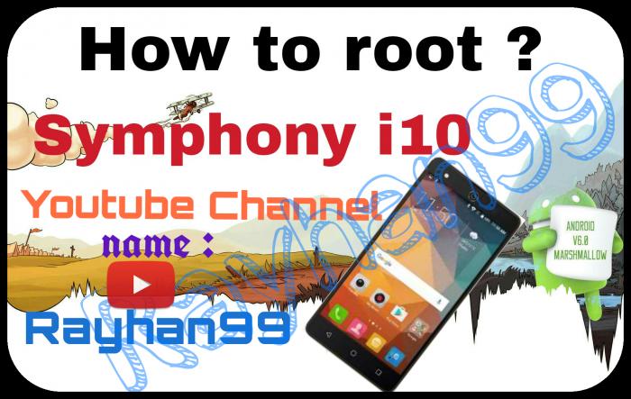 How to root? Symphony i10..কিভাবে আপনার Symphony i10 ফোন টি রুট করবেন দেখে নিন।।