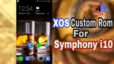 নিয়ে নিন Symphony i10 এর জন্য custom rom XOS M-6.0 with review