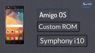 নিয়ে নিন Amigo OS v3.5 Custom ROM For Symphony i10