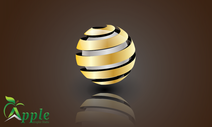 গ্রাফিক্স ডিজাইন স্টুডিও [পর্ব-০২] :: Adobe Illustrator ব্যবহার করে ১০ মিনিটে 3D Logo বানিয়ে নিন এবং শিখে নিন