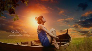 গ্রাফিক্স ডিজাইন স্টুডিও [পর্ব-১৩৭] :: Miss You | Photo Editing & Photoshop Manipulation Tutorial | Light Effect