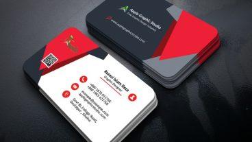 গ্রাফিক্স ডিজাইন স্টুডিও [পর্ব-১৪৫] :: কিভাবে ফটোশপের মাধমেএকটি ক্রিয়েটিভ বিজনেস কার্ড ডিজাইন করবেন – How to Make a Creative Business Card Design in Photoshop