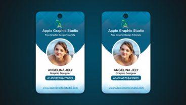 কিভাবে একটি আইডি কার্ড ডিজাইন করবেন ফটোশপ এর মাধ্যমে – How To Make a Company ID card – Photoshop Tutorial