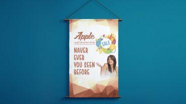 কিভাবে একটি ঝুলন্ত ব্যানার ডিজাইন করবেন ফটোশপ এর মাধ্যমে – Print Ready Hanging Banner Design – Photoshop Tutorial