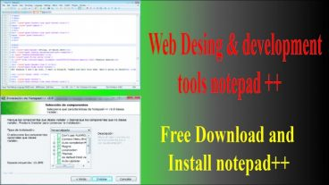 how to Free Download and Install notepad++ full and final version