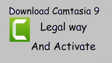 Camtasia Studio 9 আজীবনের জন্য Active করে নিন