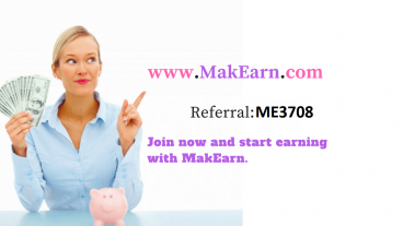 অনলাইনে টাকা আয় করুন makearn.com থেকে আর পেমেন্ট নিন বিকাশে ।ভিডিও সহ দেখে নিন Makearn bangla tutorial