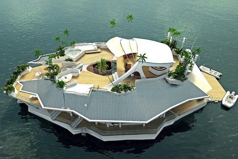 (ORSOS Islands) ভাসমান শহরে স্বপ্নের বসবাস