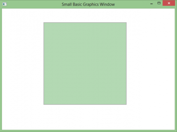 Microsoft Small Basic প্রোগ্রামিং [পর্ব-০৬] :: Shapes Object Part 1