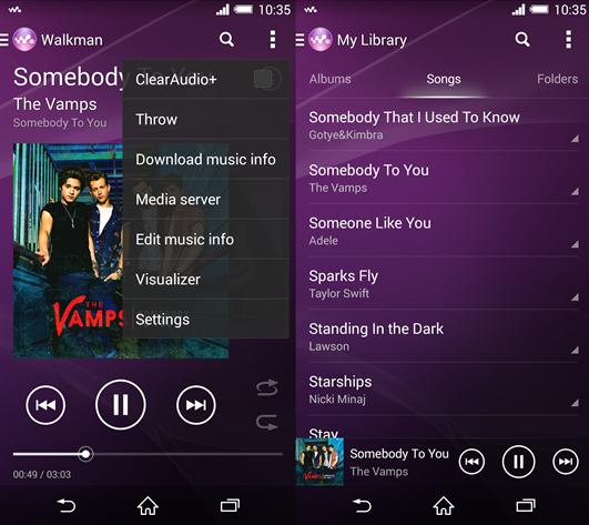 Sony musikinfos herunterladen