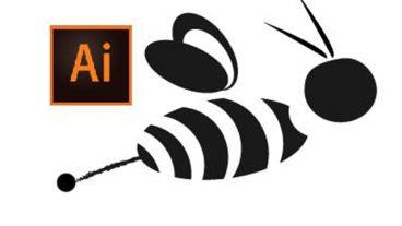 কিভাবে বানাবো একটা bee,মৌমাছি Adobe illustrator ব্যবহার করে