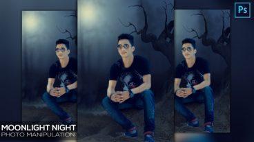 আপনার ছবিতে দিন Moonlit Night Photo Manipulation ইফেস্ট | মেনিপুলেশন টিউটোরিয়াল