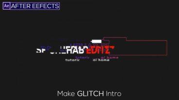 Glitch Intro Video বানিয়ে নিন আপনার Youtube Video এর জন্য | Glitch Logo Animation