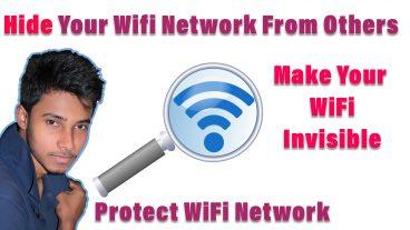 আপনার WiFi NetWork টি সবার চোখের আড়ালে গোপন করে রাখুন আপনাকে ছাড়া কেউ দেখতে পারবেনা