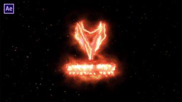 তৈরি করুন একটি Burning Fire Logo Animation ভিডিও  – After Effects Tutorial