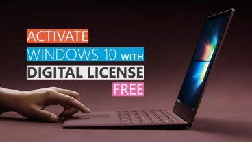 Windows 10 এ ফ্রী আপগ্রেড সাথে ডিজিটাল লাইসেন্স তো থাকছেই।
