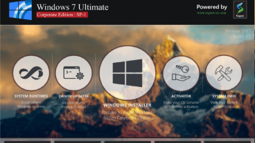 Windows 7 Corporate Edition 2017 (32-bit -64-bit)