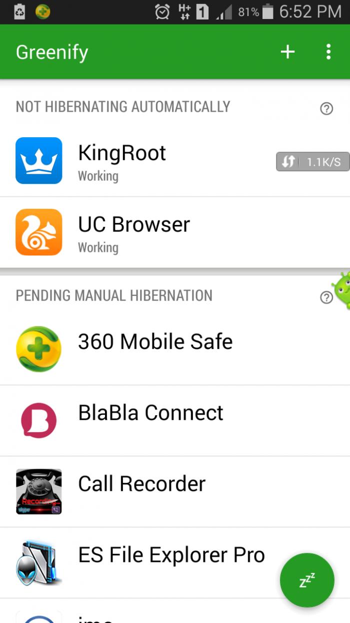 Greenify pro moded v2.95-এই mod version এ সব ফিচার unlock করা হয়েছে আপনার ফোনের চার্জ ২গুণ বেশি স্থায়ী হবে root+unroot(last update 23Sep 2016)