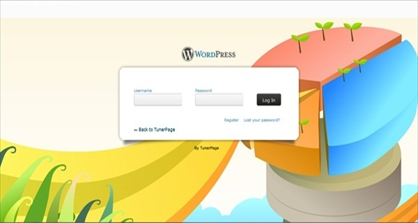 আপনাদের জন্য একটা ফাটাফাটি wp login screen নিয়ে আসলাম।