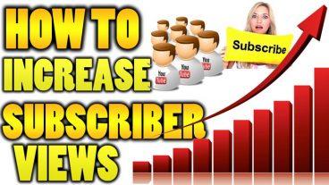 রিয়েল এবং কার্যকর পদ্বতিতে আপনার Youtube channel এর subscriber, view, likes, coments বাড়িয়ে নিন instantly.