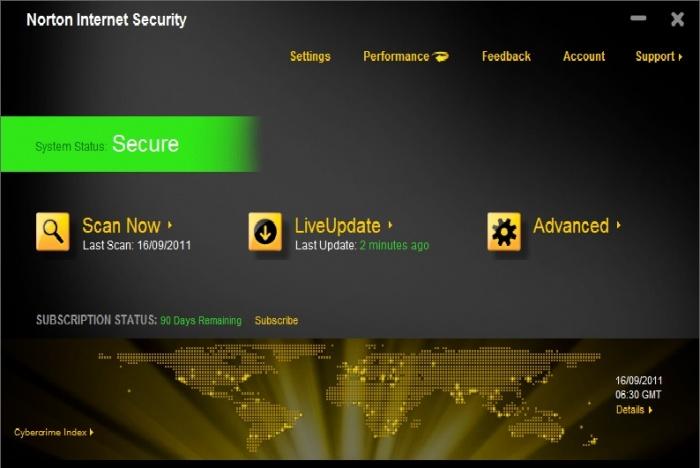 Download করে নিন একটি অত্যন্ত শক্তিশালী Anti-Virus Programme: Norton Internet Security 2012