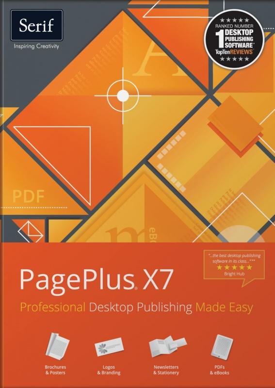 PagePlus X7 17.0.3.28 প্রফেশোনালদের জন্য 1 টি PDF ডিজাইন এবং এডিট করার সফটওয়ার