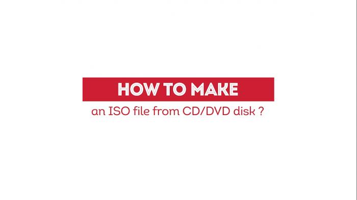 যেভাবে CD বা DVD থেকে খুব সহজেই ISO ফাইল বানাবেন  |  How To Make an ISO File from CD or DVD