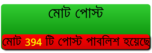 ব্লগার টিউন কাউন্টার উইজেট – Blogger Post Counter Widget