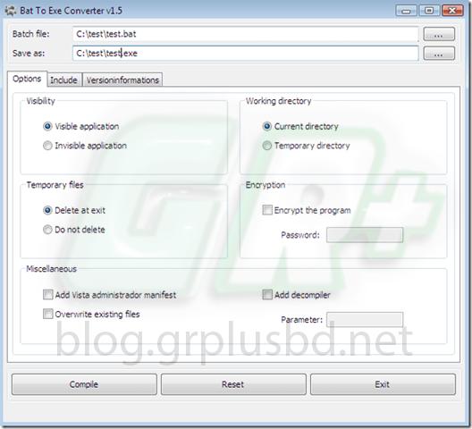 সহজেই Windows bat file থেকে exe ফাইলে কনভার্ট করুন | Bat to EXE Converter