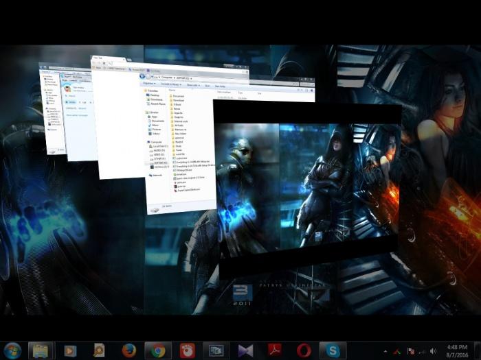 কিভাবে আপনার কম্পিউটারে Flip-3D এফ্যাক্ট দিবেন তা ভিডিওতে দেখে নিন