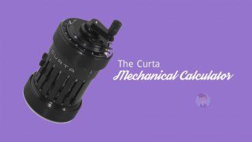 The Curta Mechanical Calculator   একটি অসাধারণ ও জটিল যান্ত্রিক ক্যালকুলেটর   এর  3D প্রিন্টেড ভার্সন