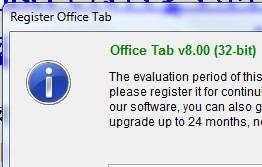 Office Tab V8.00 (32 bit) এর সিরিয়াল কী চাই, কেহ কী দিতে পরবেন?